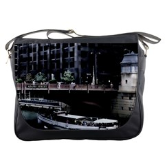 Adams Street Bridge Messenger Bag