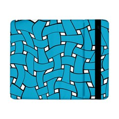 Blue distorted weave Samsung Galaxy Tab Pro 8.4  Flip Case