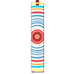 Colorful Round Kaleidoscope Large Book Mark