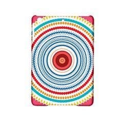 Colorful round kaleidoscope Apple iPad Mini 2 Hardshell Case