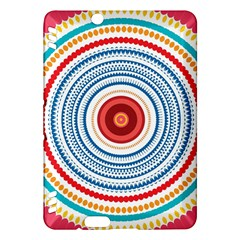 Colorful round kaleidoscope Kindle Fire HDX Hardshell Case