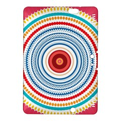 Colorful round kaleidoscope Kindle Fire HDX 8.9  Hardshell Case