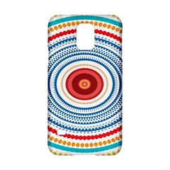 Colorful round kaleidoscope Samsung Galaxy S5 Hardshell Case