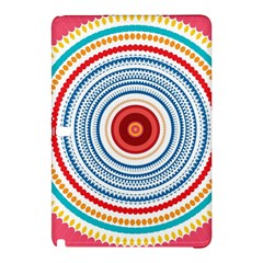 Colorful round kaleidoscope Samsung Galaxy Tab Pro 12.2 Hardshell Case