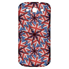 Heart Shaped England Flag Pattern Design Samsung Galaxy S3 S Iii Classic Hardshell Back Case