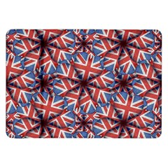 Heart Shaped England Flag Pattern Design Samsung Galaxy Tab 8 9  P7300 Flip Case