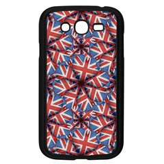 Heart Shaped England Flag Pattern Design Samsung Galaxy Grand Duos I9082 Case (black)