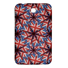 Heart Shaped England Flag Pattern Design Samsung Galaxy Tab 3 (7 ) P3200 Hardshell Case