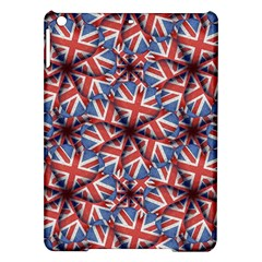 Heart Shaped England Flag Pattern Design Apple Ipad Air Hardshell Case