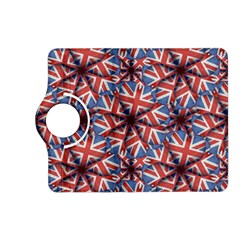 Heart Shaped England Flag Pattern Design Kindle Fire HD (2013) Flip 360 Case