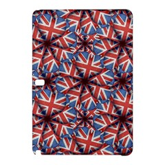 Heart Shaped England Flag Pattern Design Samsung Galaxy Tab Pro 10.1 Hardshell Case