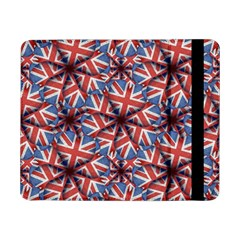 Heart Shaped England Flag Pattern Design Samsung Galaxy Tab Pro 8.4  Flip Case
