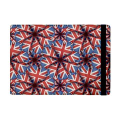 Heart Shaped England Flag Pattern Design Apple iPad Mini 2 Flip Case