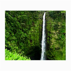 Akaka Falls Glasses Cloth (small, Two Sided)