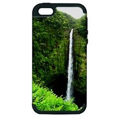 Akaka Falls Apple Iphone 5 Hardshell Case (pc+silicone)