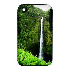 Akaka Falls Apple Iphone 3g/3gs Hardshell Case (pc+silicone)