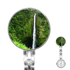 Akaka Falls Stainless Steel Nurses Watch