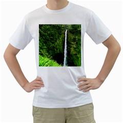 Akaka Falls Men s T-Shirt (White)