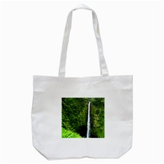 Akaka Falls Tote Bag (White)