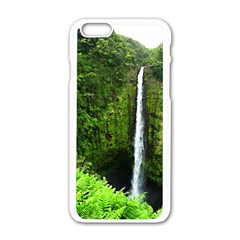 Akaka Falls Apple Iphone 6 White Enamel Case