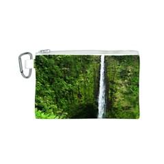 Akaka Falls Canvas Cosmetic Bag (Small)