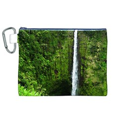 Akaka Falls Canvas Cosmetic Bag (XL)