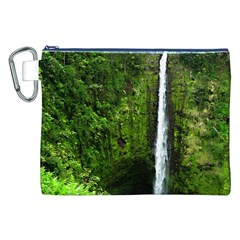 Akaka Falls Canvas Cosmetic Bag (XXL)