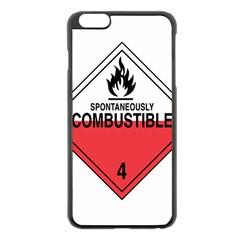Comb Apple iPhone 6 Plus Black Enamel Case