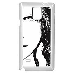 Her Samsung Galaxy Note 4 Case (White)