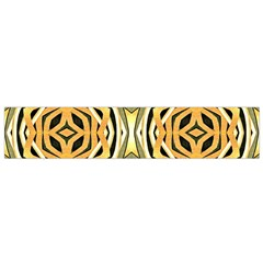 Art Print Tribal Style Pattern Flano Scarf (Small)