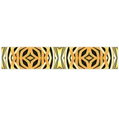 Art Print Tribal Style Pattern Flano Scarf (Large)