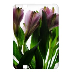 Pink Flowers On White Kindle Fire Hd 8 9  Hardshell Case