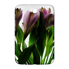 Pink Flowers On White Samsung Galaxy Note 8 0 N5100 Hardshell Case