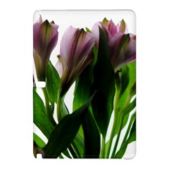 Pink Flowers On White Samsung Galaxy Tab Pro 10 1 Hardshell Case