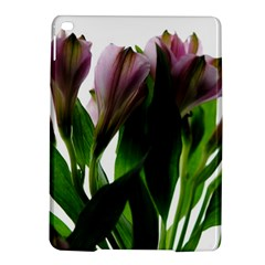 Pink Flowers On White Apple Ipad Air 2 Hardshell Case