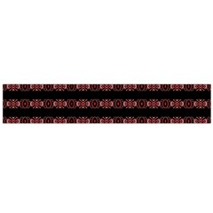 Tribal Ornate Geometric Pattern Flano Scarf (large)
