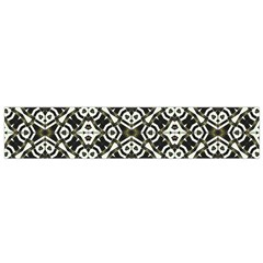 Abstract Geometric Modern Pattern Flano Scarf (small)