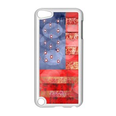 Distressed American Flag Apple Ipod Touch 5 Case (white)