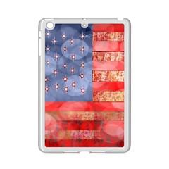 Distressed American Flag Apple iPad Mini 2 Case (White)