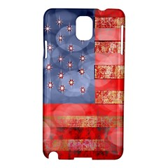 Distressed American Flag Samsung Galaxy Note 3 N9005 Hardshell Case