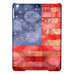Distressed American Flag Apple iPad Air Hardshell Case