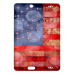 Distressed American Flag Kindle Fire HD (2013) Hardshell Case
