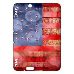 Distressed American Flag Kindle Fire HDX Hardshell Case