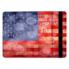 Distressed American Flag Samsung Galaxy Tab Pro 12.2  Flip Case