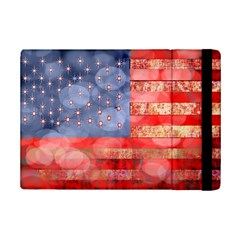 Distressed American Flag Apple Ipad Mini 2 Flip Case