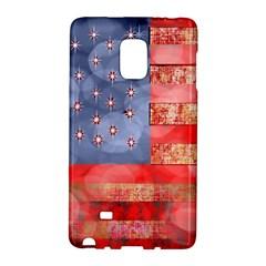 Distressed American Flag Samsung Galaxy Note Edge Hardshell Case