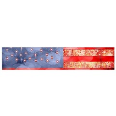 Distressed American Flag Flano Scarf (small)