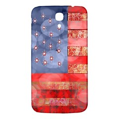 Distressed American Flag Samsung Galaxy Mega I9200 Hardshell Back Case