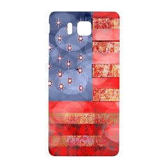 Distressed American Flag Samsung Galaxy Alpha Hardshell Back Case