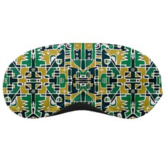 Colorful Tribal Abstract Pattern Sleeping Mask